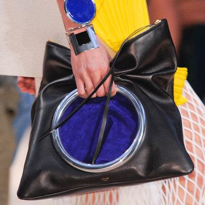 Celine Eyelet Ring Clutch