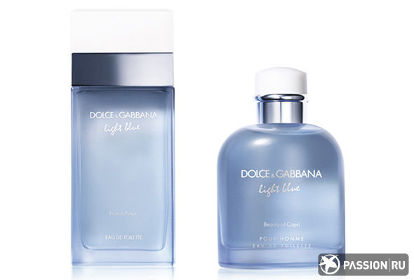 Love in Capri и Light Blue Beauty of Capri Dolce&Gabbana